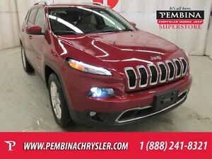 2016 Jeep Cherokee Limited *BLUETOOTH, REMOTE START, HEATED LEAT