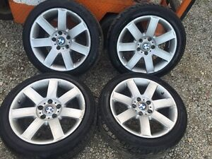 E46 Rims and Tires for sale !