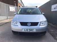 VW TOURAN 1.9 TDI SE PD DIESEL 7 SEATER 75K MILEAGE ONLY