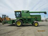 1982 John Deere 8820 Turbo combine w/ JD 212 header $29,500.00