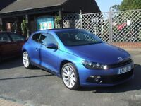 VOLKSWAGEN SCIROCCO GT TDI BLUEMOTION TECHNOLOGY (blue) 2012