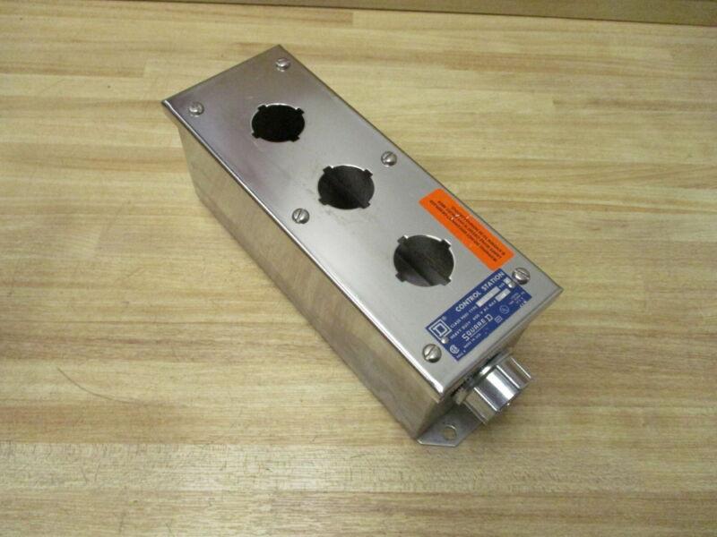 Square D 9001kyss-3 Control Station Enclosure 9001kyss3