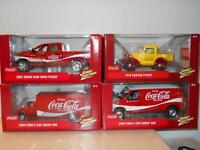1/24 scale diecast Johnny Lightning Coke Trucks