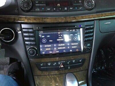 NAVEGADOR GPS 2 DIN ANDROID 10 MERCEDES CLASE E w211 w219 E200...