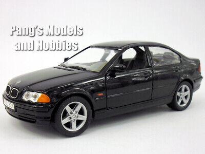 BMW 328i 1998 1/24 Scale Diecast Metal Model by Welly - BLACK