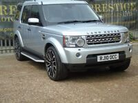 LAND ROVER DISCOVERY 4 TDV6 HSE (silver) 2010
