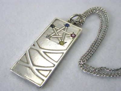 New Touhou Project Cloth Necklace 【Dōjo】 Silver925 Stone Anime 50cm male Japan](Anime Male Clothes)