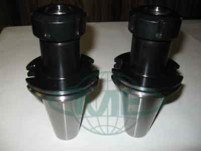 Cat50 Er40 Collet Chuck---2 Chucks New  Tool Holder Set