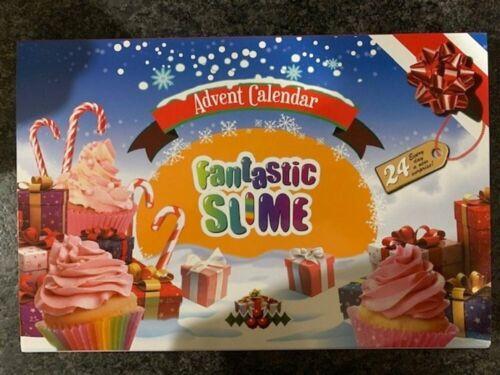 SLIME Kids Christmas Advent Calendar 2020 Holiday 24Pcs Set Gift Free Shipping