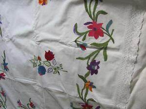 Exquisite embroidered blanket cover now reduced Oakville / Halton Region Toronto (GTA) image 2