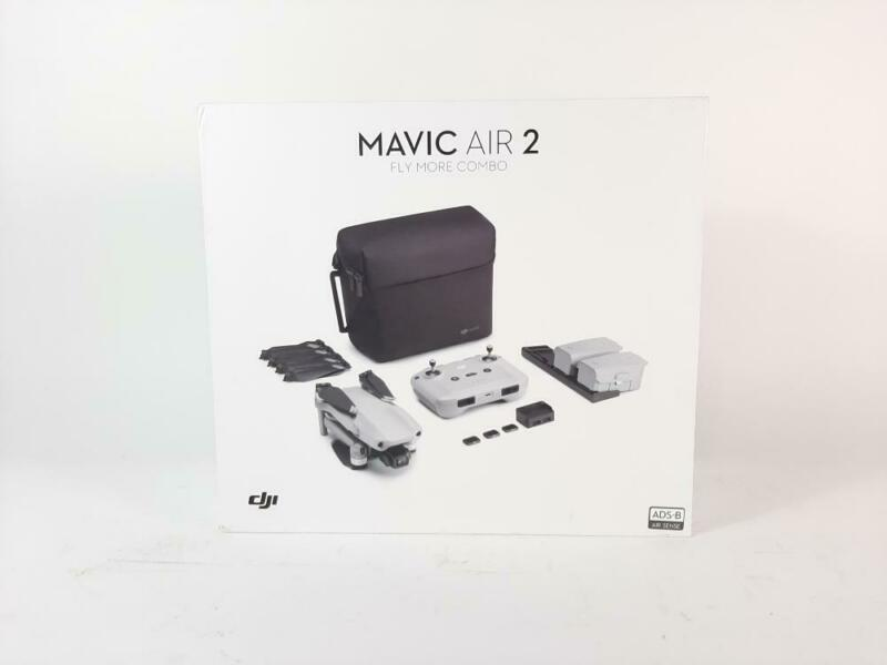 DJI Mavic Air 2 Fly More Combo Drone Quadcopter UAV w/48MP Camera 4KP (PREOWNED)