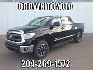 CERTIFIED! 2014 TOYOTA TUNDRA TRD CREWMAX V8 4WD! CLEAN CARPROO