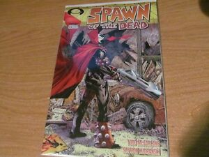 Spawn #223 The Walking Dead Issue #1 Homage Cover