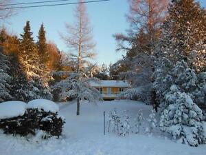 Winter Cottage Rental - Winter Wonderland- Romantic Getaway