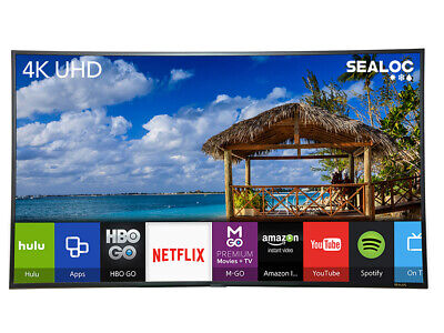 SEALOC LAN-SS8S-49 49in 4K UHD LANAI Weather Resistant Samsung 8-Series smart TV
