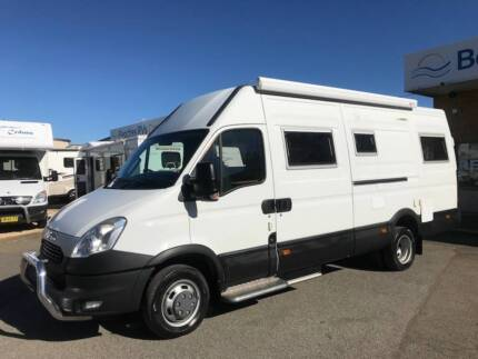 2013 Iveco Daily Motorhome Automatic Valentine Lake Macquarie Area Preview