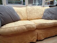 FREE - large 3 seater sofa from Sofa Workshop + 2 sets of removable, washable covers