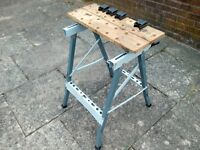 PORTABLE FOLDING WORK BENCH CLAMPING WORK BENCH