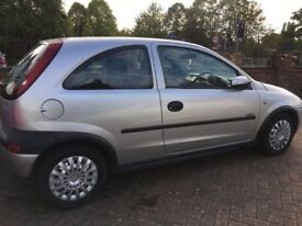 Vauxhall Corsa Elegance (great tidy little first time car) non smoking owner