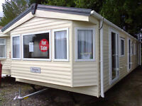 Static caravan Delta Sienna 35 x 12 ft / 2 bedrooms, double glazing and central heating