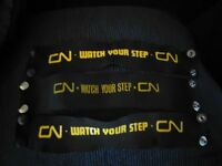 "CN Rail ""Watch Your Step"" Armbands"