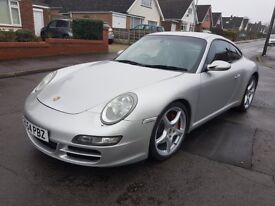 TOP SPEC Porsche 997 3.8S Carrera 2, High Backed Seats, Chrono, FSH, P/X & Finance Welcome