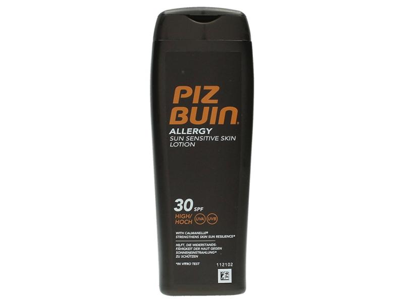 Piz Buin Allergy Lotion SPF 30 Sonnencreme, Geeignet für Allergiker, 200 ml
