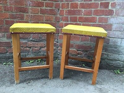 Pair Of Vintage Stools
