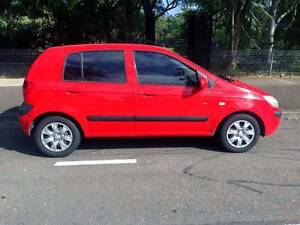 Hot Hatch 2010 Hyundai Getz SX Auto Low Ks Chatswood Willoughby Area Preview
