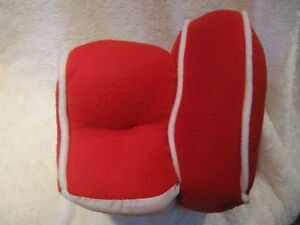 Plush Red Chair or Couch - For Bearington Bear or Doll Strathcona County Edmonton Area image 4