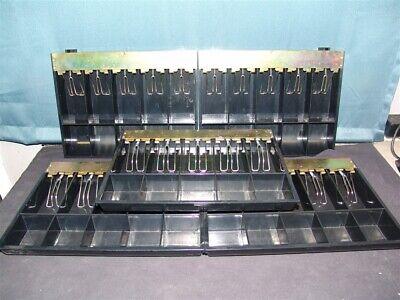 Lot Of 9 Cash Register Drawer Insert Till Trays Mmf 630-2557-04 5 Bill 5 Coin