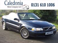 VOLVO C70 T 2lt Convertible Full Beige Leather (blue) 2005