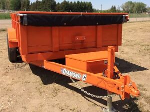 2016 Diamond C 21WDL 7x14 Dump Trailer
