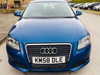 Audi A3 1.8 TFSI Sport S Tronic 3dr SUPERB RUBBER+6MNTH WARRANTY