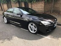 BMW 6 SERIES 640D M SPORT GRAN COUPE (black) 2014