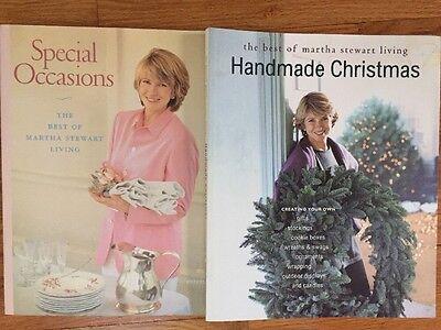 Set Martha Stewart Handmade Christmas & Special Occasions DIY Recipes Crafts ()