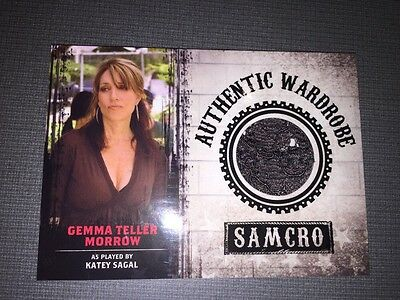 Sons Of Anarchy Trading Cards Seasons 1 3 Authentic Wardrobe Card Of Gemma