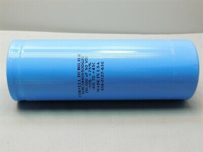 Cornell Dubilier Dcmc394u050dg2d 390000uf 50vdc -1075 Electrolytic Capacitor