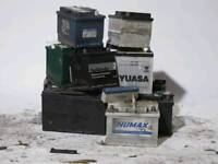 WANTED-Old Car Batteries