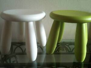 2 x IKEA MAMMUT Children's Stools **As New** $10/pair Bexley Rockdale Area Preview