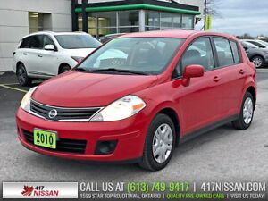 2010 Nissan Versa 1.8S | Remote Keyless Entry, Air Conditioning