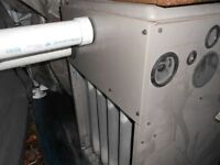 COMMERCIAL PROPANE FURNACE