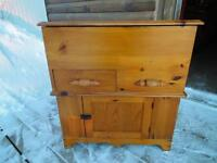 ***NEW PRICE***ANTIQUE PINE WASHSTAND