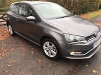 2017 Volkswagen Polo 1.2 TSI Match Edition Hatchback 3dr (start/stop) cat D immaculate condition
