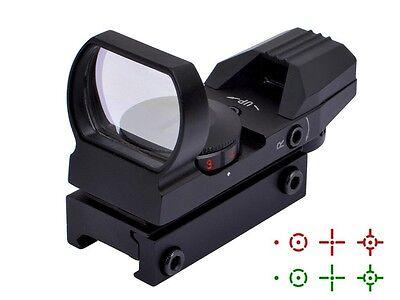 Ohuhu Field Sport Red And Green Reflex Sight W 4 Reticles Pistol Hand Gun Target