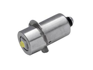 Taschenlampe Ersatz-LED   Stecksockel P13.5s   3,2-9 V 3 Watt   TorchLED13-HPHV