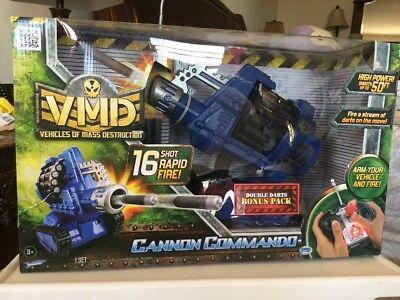 VMD Cannon Commando 50 Ft. Dart Launcher Toy Remote Control