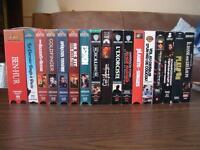 LOT DE 17 FILMS VHS POPULAIRES ÉTAT NEUF VERSION FRANCAISE