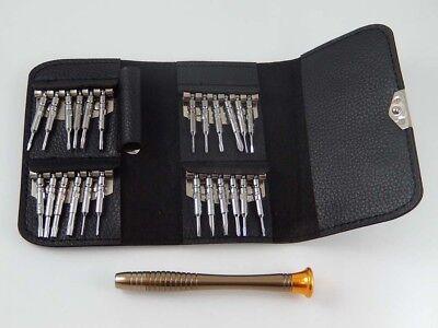 original vhbw® 25-in-1 Schraubendreher-Werkzeug-Set