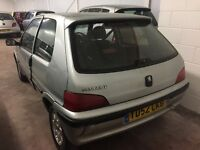 PEUGEOT 106 INDEPENDENCE (silver) 2002